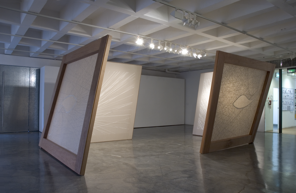 Installation view, Tin Sheds Gallery